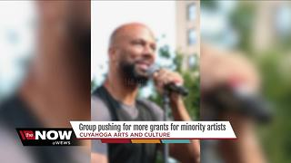 Local artists calling for more grants for minorities - Video