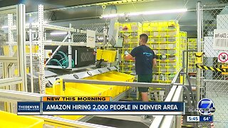 Amazon hiring 2,000 in Denver