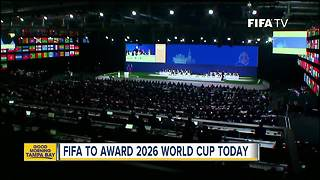 FIFA members prepare to elect 2026 World Cup host - Video