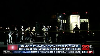 One man arrested after standoff with BPD Saturday night