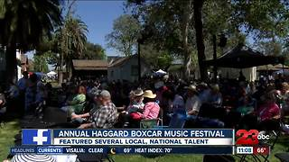 Haggard Boxcar Music Festival - Video