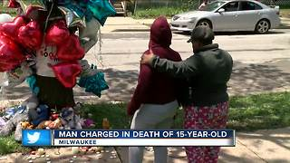 Man charged in death of 15-year-old - Video