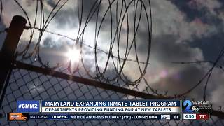 Maryland expanding program to provide inmates with electronic tablets - Video