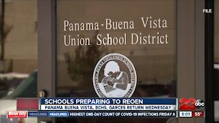 Kern County schools prepare to reopen