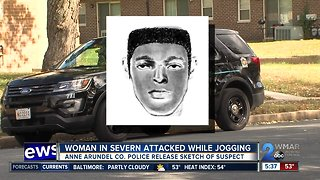 Sketch released of suspect who robbed, attempted to sexually assault jogger