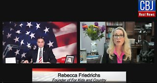 CBJ Real News Show (Part 111): Special Guest Rebecca Friedrichs Exposes Teachers' Unions