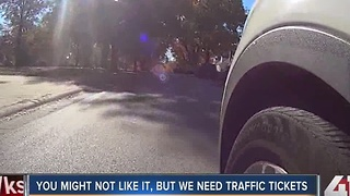 You might not like it, but we need traffic tickets - Video
