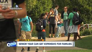 Think college is expensive? Try high school Senior year - Video