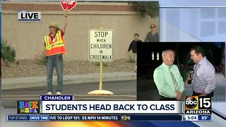 School back in session for some Valley students - Video