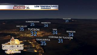 Chief Meteorologist Erin Christiansen's KGUN 9 Forecast Wednesday, February 28, 2018 - Video