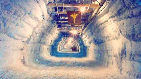 This Abandoned Nuclear City Is Trapped Under Ice, What Happens If It Thaws?