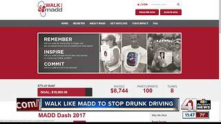 Walk like MADD to stop drunk driving - Video