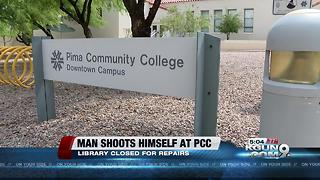 PCC library remains closed following shooting