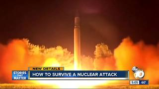 Would you know how to survive a nuclear attack? These tips could help - Video