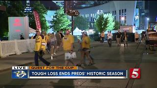Tough Loss Ends Preds Historic Season - Video