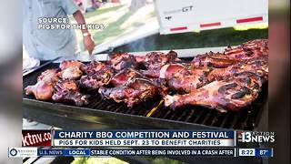 Pigs and the Kids Charity BBQ Competition and Festival - Video