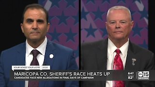 Allegations fly in final days of Maricopa County Sheriff's race