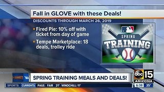 Spring Training meals and deals