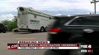Death investigation under way at Lehigh Acres home - Video