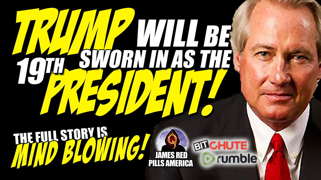 James Red Pills America -- Lin Wood Interview: Trump to be Sworn as 19th President of Restored Republic