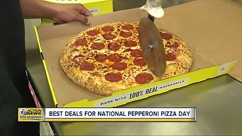 Best deals for National Pepperoni Pizza Day