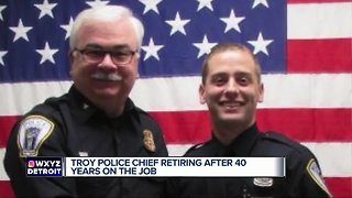 Troy chief retires after 40 years on the job