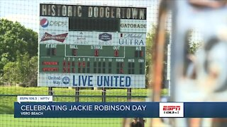 Dodgertown honors Jackie Robinson year round