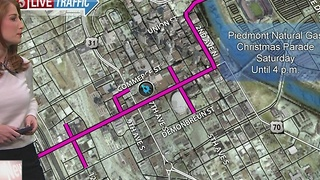Road Closures Set For Nashville Christmas Parade - Video