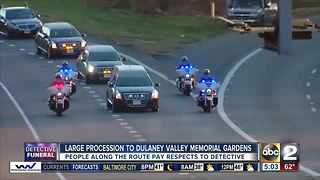 Thousands of officers expected to be part of Detective Suiter's funeral procession - Video