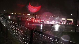 Amazon Warehouse Partially Collapses in Storm, Killing 2