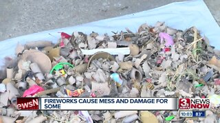 Fireworks Cause Mess & Damage For Some