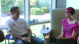 NASCAR driver visits Bellin Health - Video