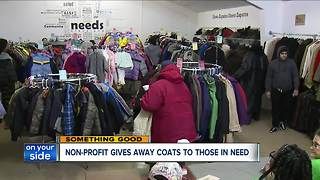 Needs Cleveland gives away more than 2,000 winter coats at annual event - Video