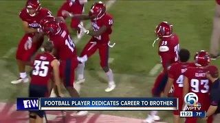 Jalen Young dedicates No. 18, career to his young brother