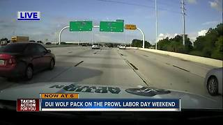 DUI Wolf Pack on prowl Labor Day Weekend - Video
