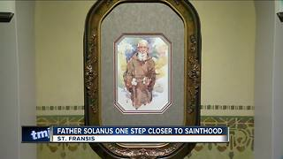 Father Solanus one step closer to sainthood - Video