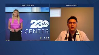 Dr. Dario joins 23ABC to discuss vaccines and adolescents