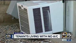 Apartments left with A/C problems frustrating residents during intense heat - Video