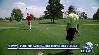 Denver to buy Park Hill Golf Course, could pay $20 million over next 30 years - Video