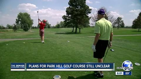 Denver to buy Park Hill Golf Course, could pay $20 million over next 30 years