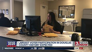 Douglas County expecting record voter turnout