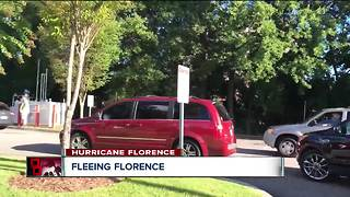 NEO residents flee, gather aid ahead of Florence