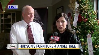 Positively Tampa Bay: Angel Tree & Hudson's Furniture