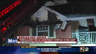 Firefighter sent to hospital, 15 displaced following apartment fire