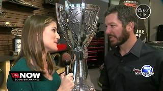 NASCAR Champion Martin Truex Jr. returns to Colorado - Video