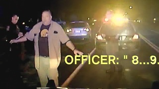 Sheriff Deputy DUI Crash - Video