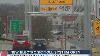 New Electronic Toll System Operational