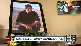 Valley family searching for answers after man was shot and killed in Tempe - Video