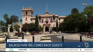 Balboa Park welcomes back guests