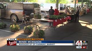 Overland Park Farmers' Market now open on Wednesdays - Video
